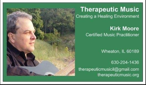 therapeuticmusic business card